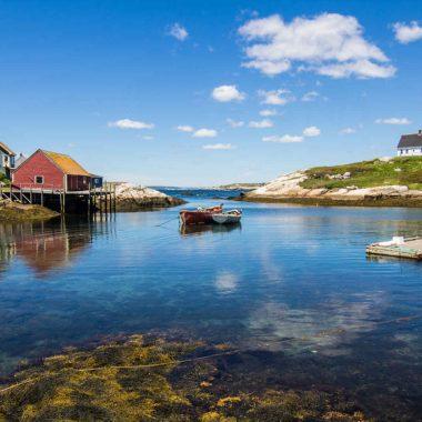 Acadie, homards et phares