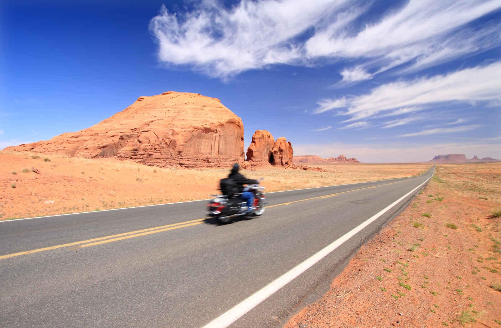 L'Ouest à moto